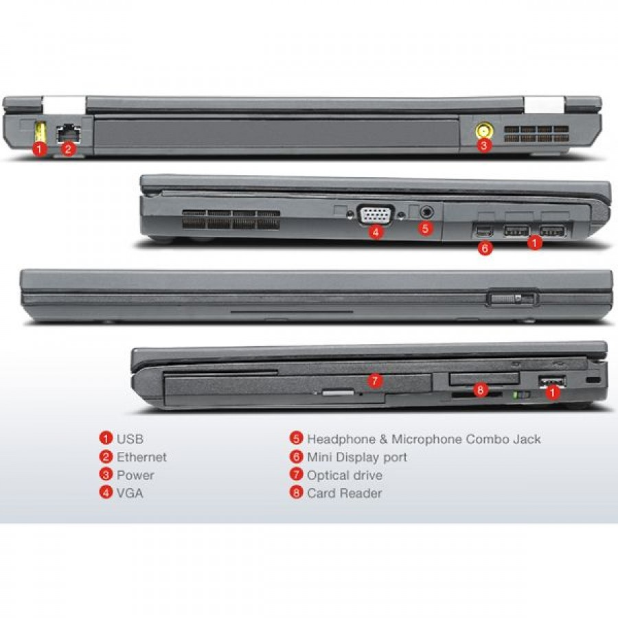 Lenovo Thinkpad T430 Intel Core i5-3320M 2 6GHz