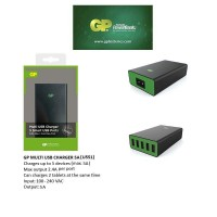 GP Multi USB Charger 5A Charges up to 5 devices (Max.5A)