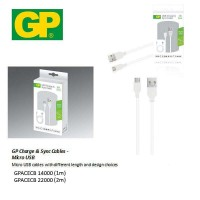 GP Charge & Sync Cables Micro USB (New)
