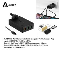 Aukey PA-T14 USB Wall Charger Quick Charge 3.0