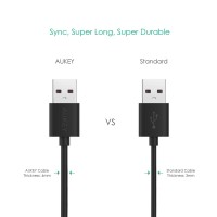 Aukey CB-D10 3-Pack Micro USB Cables Technology